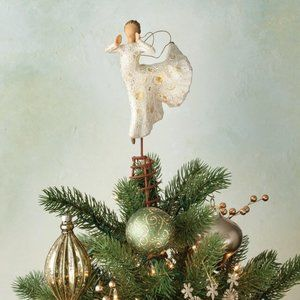 Song of Joy Tree Topper 27600 Willow Tree NEW